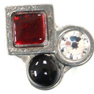 Noir / Rouge-8022R