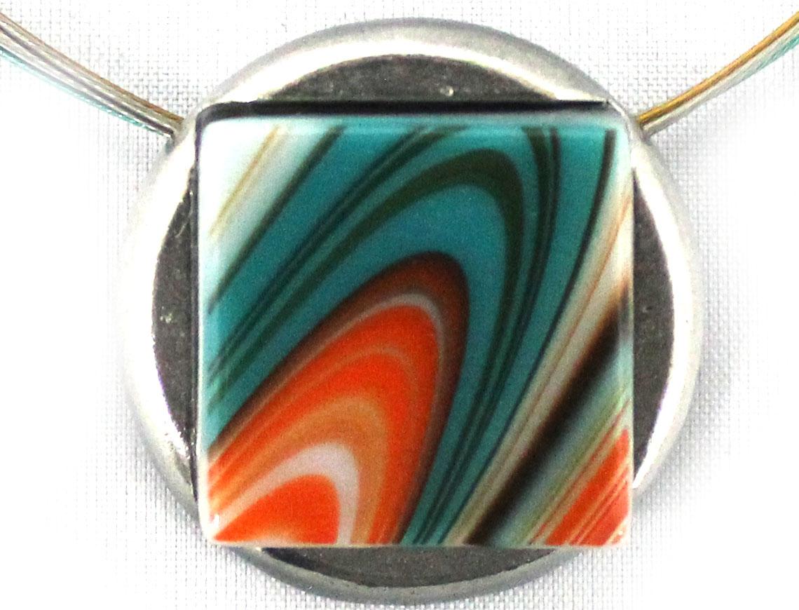Orange/Aqua-882P