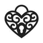 Cœur troué (sans cristal)